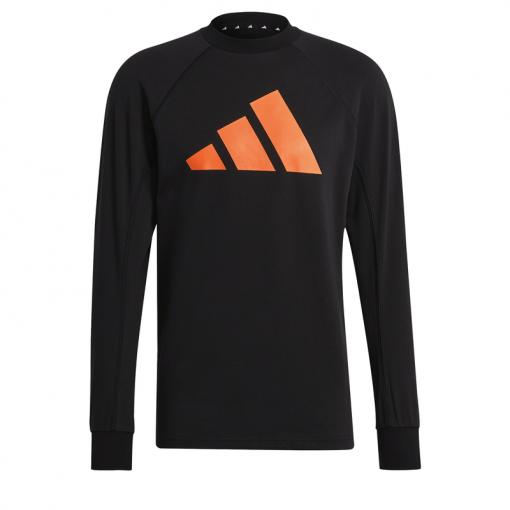 Adidas heren trui M Fi Crew - Zwart