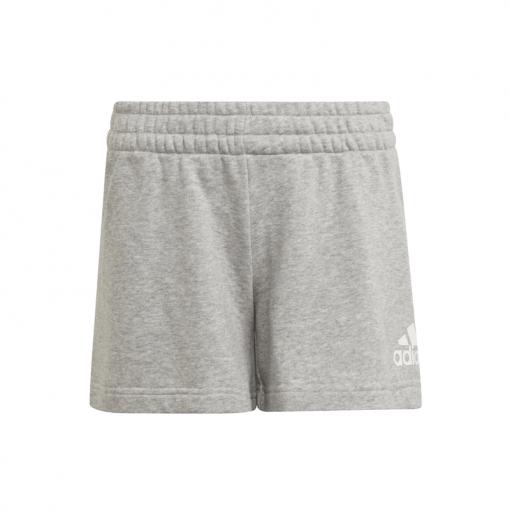 Adidas meisjes short G Fi Logo Short - Mgrey