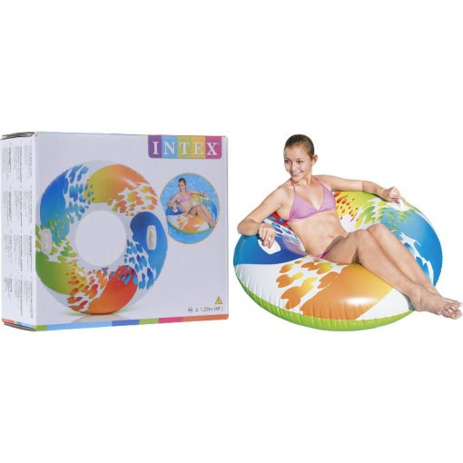 Intex zwemband Kleurrijk dia 122 cm - KLeurrijk