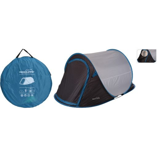 Tent Pop Up 220x95 2 Personen - 2Pers
