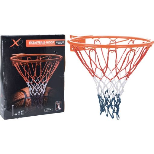 XQmax Basketbal Ring Official Size - Zwart