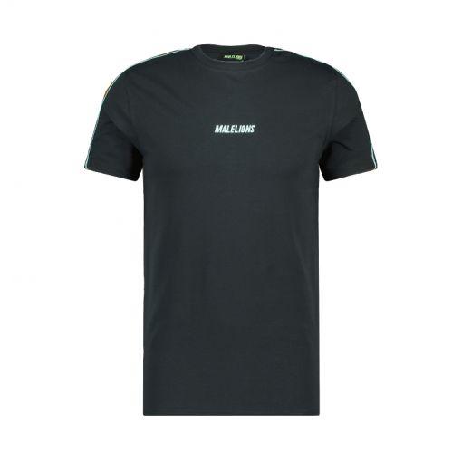 Malelions heren t-shirt Sport Coach T-Shirt - 205 Antra/Mint