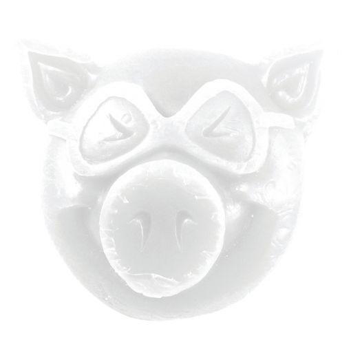 Pig Pig USA Head skateboard Wax - Wit