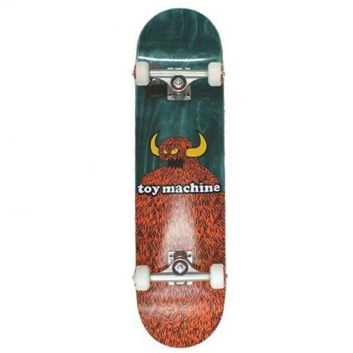 Toy Machine skateboard Furry Monster 8.0 - Zwart