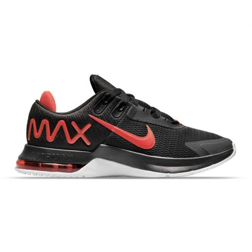 Nike heren fitness schoen Air Max Alpha Trainer 4 - 003 BLACK/CHILE RED-WHITE
