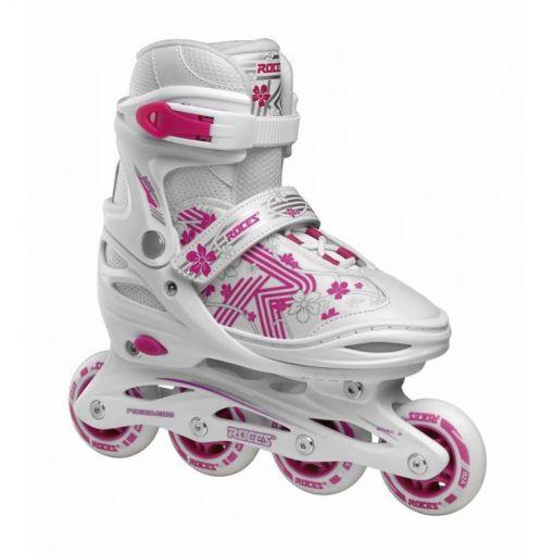 Roces junior inline skate Jokey 3.0 - Wit