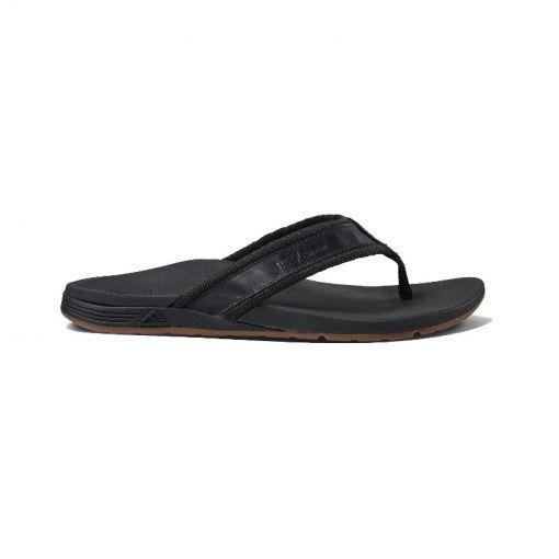 Reef heren slipper Ortho-Spring - Woven Black