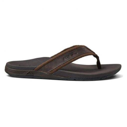 Reef heren slipper Ortho-Spring - Woven Brown