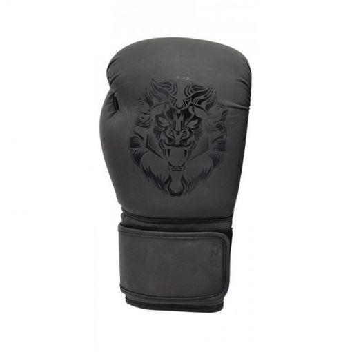 Leo bokshandschoenen Ladies Gloves - Mat Black/Black