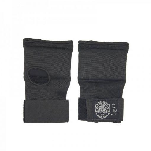 Leo binnenhandschoen Inner Gloves Gel Padding - Zwart