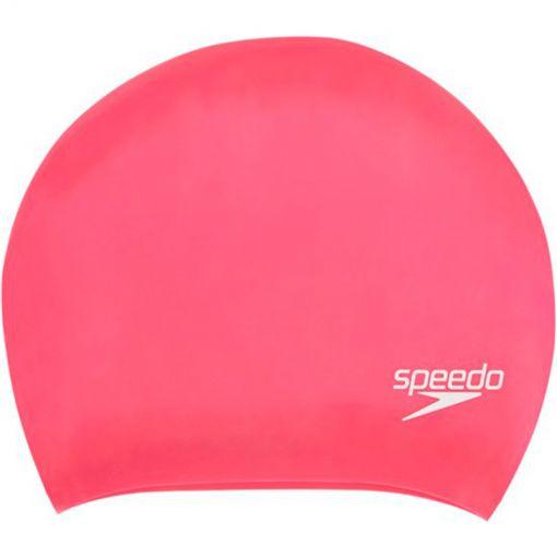 Speedo badmuts Long Hair Cap Pink P12 - A064 Pin