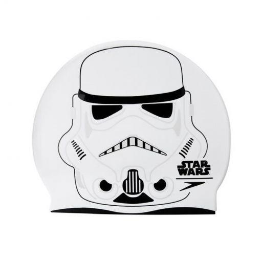 Speedo junior badmuts Storm Trooper Cap White P6 - C632 Whi