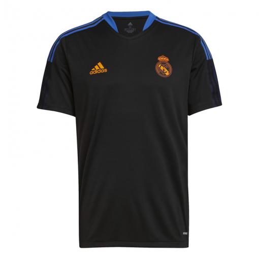 Real Madrid heren trainings shirt 21/22 - zwart