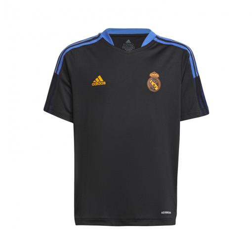 Real Madrid junior trainings shirt 21/22 - zwart