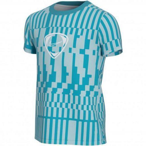 Nike jongens t-shirt Dri-Fit Academy Big Kids - 382 LIGHT DEW/AQUAMARINE/WHITE