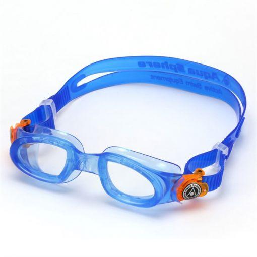 Aqua Sphere Moby Kid Clear Lens - Blauw