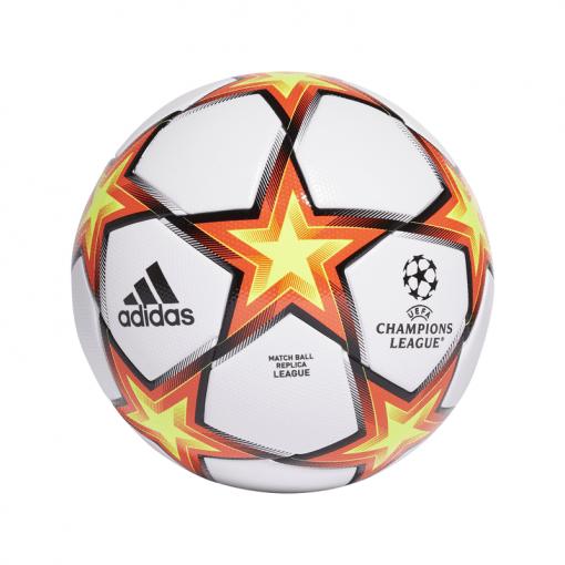 Adidas voetbal Fin21 League - 000 WHITE/SOLRED/SYELLO/B
