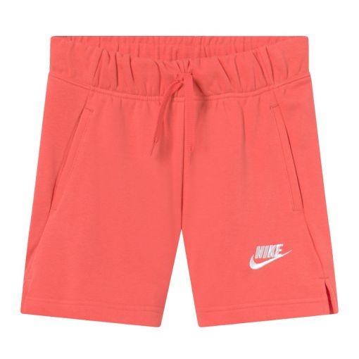 Nike meisjes short Sportswear Club Big Kids - 814 MAGIC EMBER/WHITE