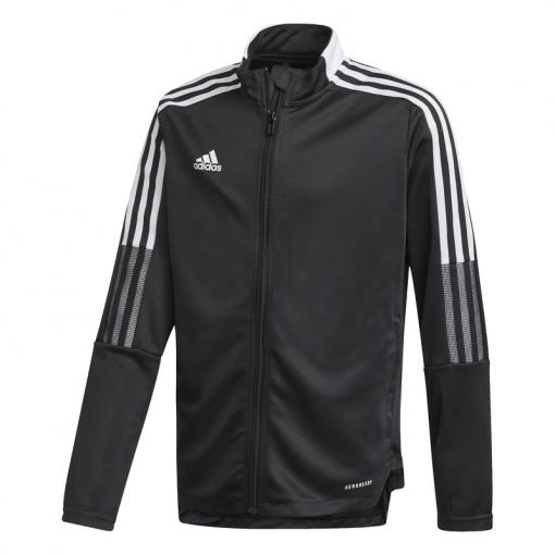 Adidas junior trainingsjack Tiro21 TK Jacket Y - zwart