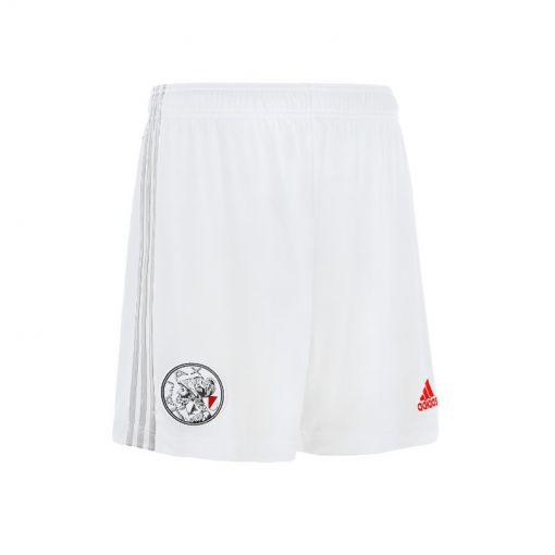 Ajax junior thuis short 21/22 - 000 WHITE/STONE