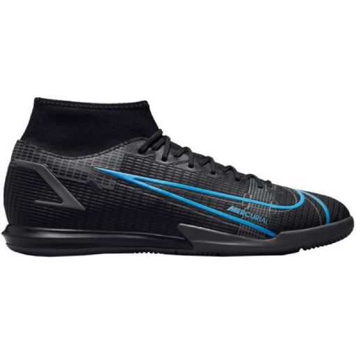 Nike zaalvoetbalschoen Mercurial Superfly - 004 Black/Iron Grey