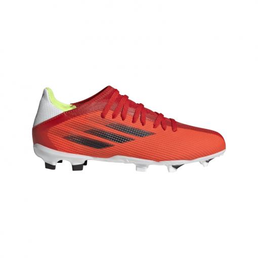 Adidas junior voetbalschoen X Speedflow 3 FG - Red/Cblack