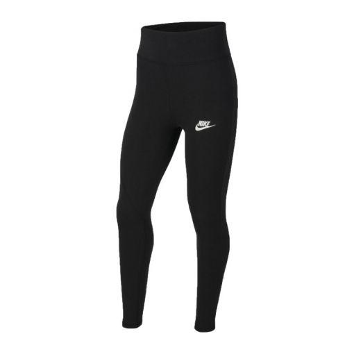 Nike meisjes tight Sportswear Favorites Big Kids - Zwart