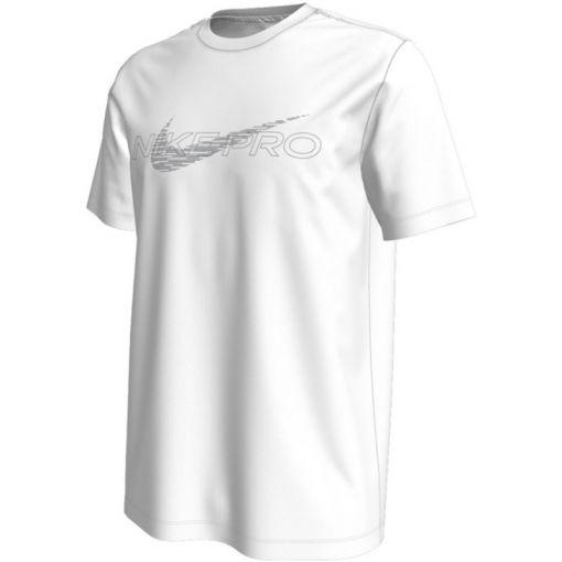 Nike heren t-shirt Pro Dri-Fit Mens Graphic Tee - Wit