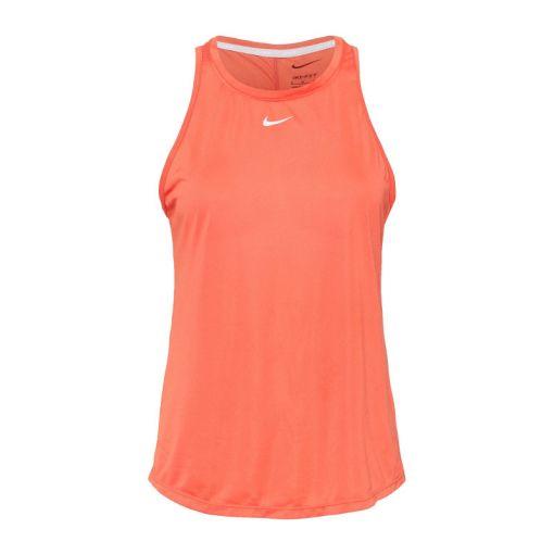 Nike dames singlet Dri-Fit One Womens Stand - 814 MAGIC EMBER/WHITE
