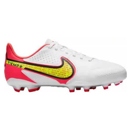 Nike junior voetbalschoen Tiempo Legend 9 - 176 White volt