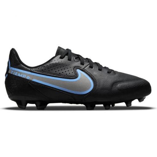 Nike junior voetbalschoen Tiempo Legend 9 - 004 Black/Black-Iron Grey
