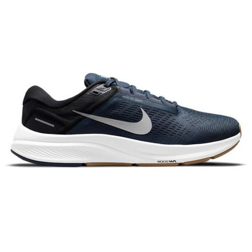 Nike heren hardloopschoen Air Zoom Structure - 400 Thunder Blue/Wolf