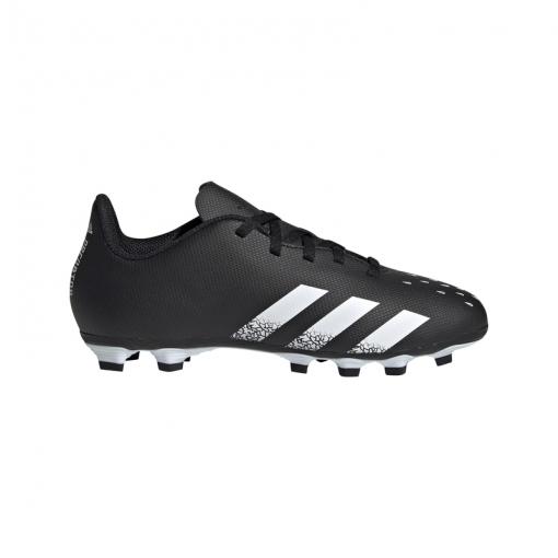 Adidas junior voetbalschoen Predator Freak FG - Cblack/Wht