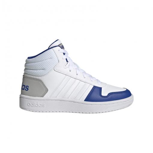 Adidas jongens sneakers Hoops Mid 2.0 - Wit