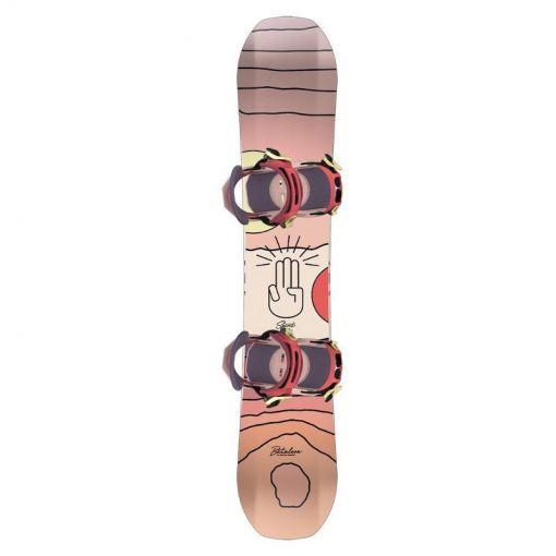 Bataleon snowboard Spirit - Zwart