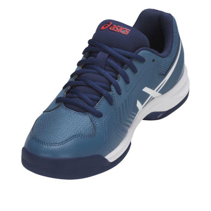 Asics Gel Dedicate 5 heren indoorschoen blauw | Bouchier