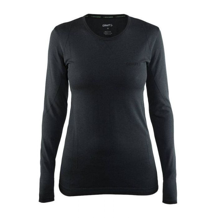 Craft dames thermo shirt lange mouw Active Comfort Antraciet