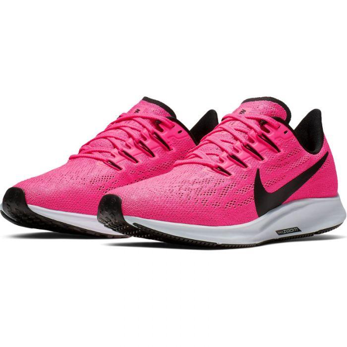 Nike dames fitness schoen Air Zoom Pegasus 36 - 600 HYPER PINK/BLACK-HALF  BLUE