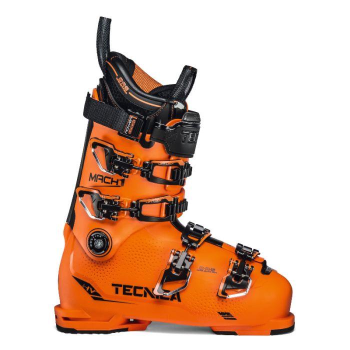 Tecnica heren skischoen Mach 1 130 Oranje